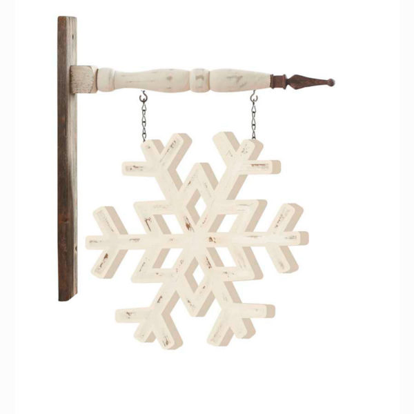Great-Finds-Parker-Products-K&K Interiors-10-inch-white-painted-snowflake-arrow-replacement
