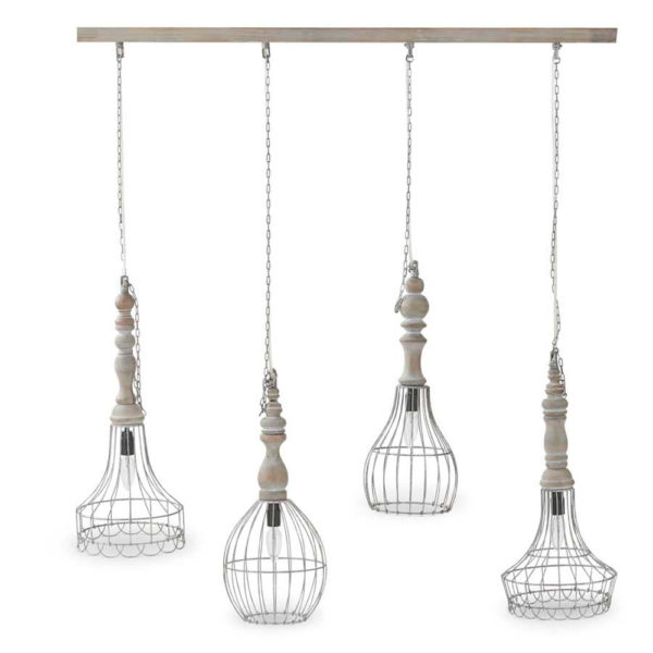 Great-Finds-Parker-Products-K&K-Interiors-59-inch-gray-4-industrial-wire-pendent-light-chandelier