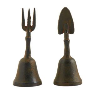 Great-Finds-Parker-Products-K&K Interiors-6-5-inch-assorted-black-garden-tool-bells-2-styles