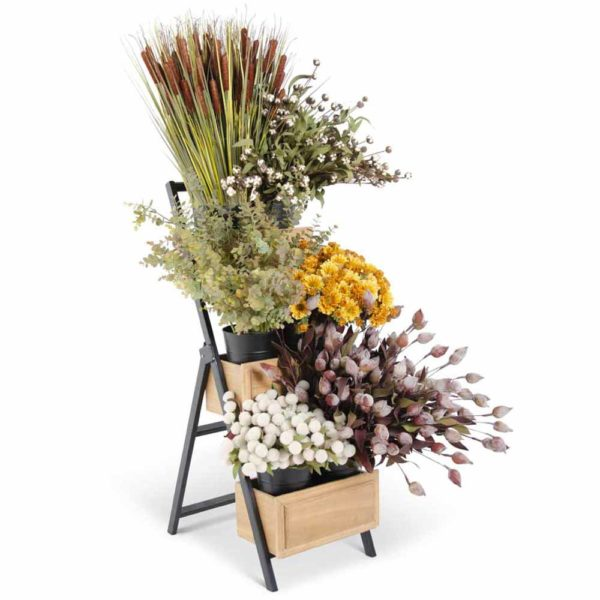 Great-Finds-Parker-Products-K&K Interiors-fall-floral-ladder-program-with-free-display