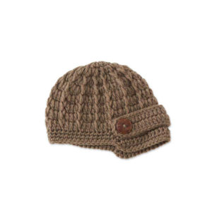 Great-Finds-Parker-Products-K&K Interiors-handmade-brown-newsboy-hat