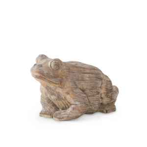 Great-Finds-Parker-Products-K&K Interiors-small-cement-garden-frog