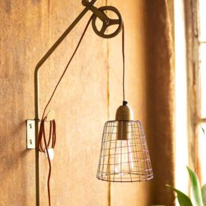 Great-Finds-Parker-Products-Kalalou-Metal-Pulley-Wall-Lamp-with-Wire-Shade-00