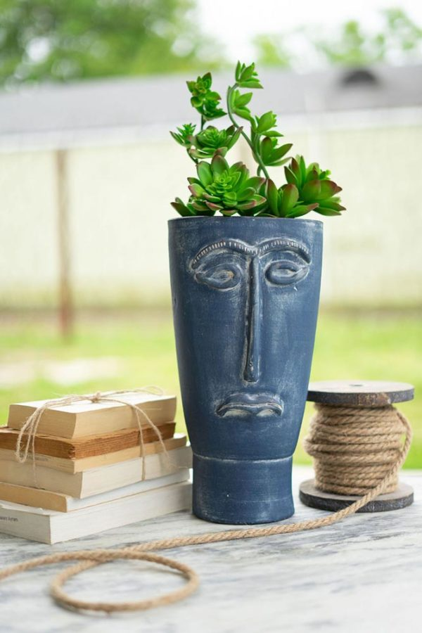 Great-Finds-Parker-Products-Kalalou-blue-clay-face-vase-00
