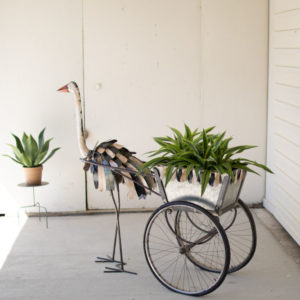 Great-Finds-Parker-Products-Kalalou-recycled-iron-ostrich-cooler-planter-cart