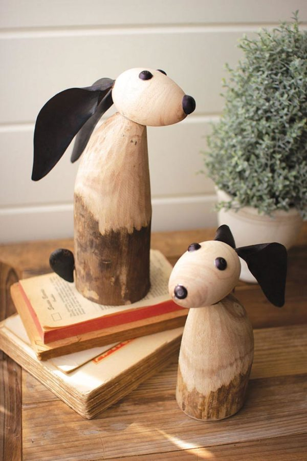 Great-Finds-Parker-Products-Kalalou-set-of-2-wood-and-iron-rabbits