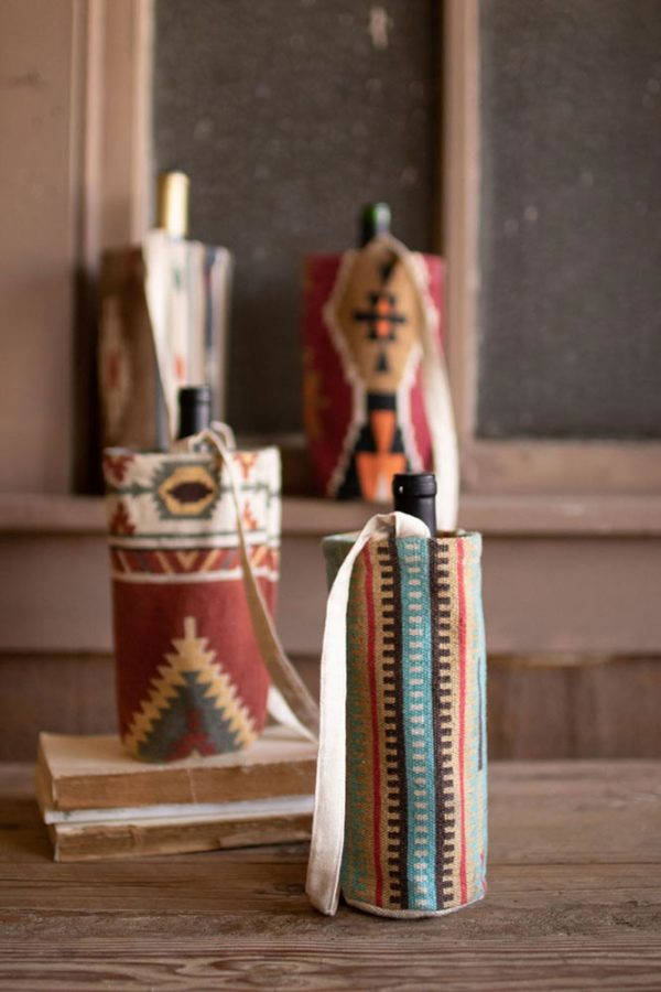 Great-Finds-Parker-Products-Kalalou-set-of-4-printed-southwest-wine-bags-03