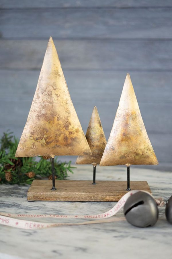Great-Finds-Parker-Products-Kalalou-three-antique-gold-christmas-trees-on-a-wooden-base-00